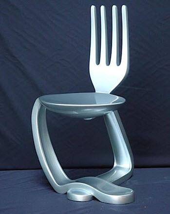 Beau Fork Spoon Chair